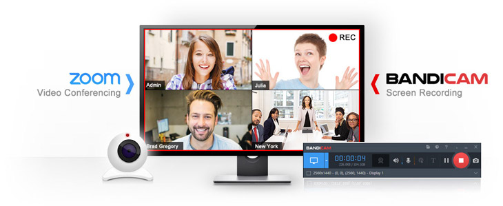 Bandicam record zoom video conference