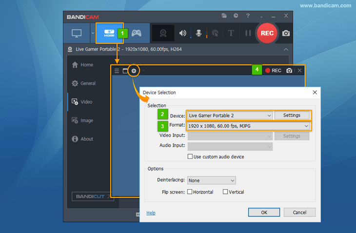 Free Video Capture Software | Free Download - Bandicam