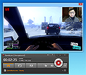 Webcam overlay, PiP, Picture-in-Picture, Video-in-Video