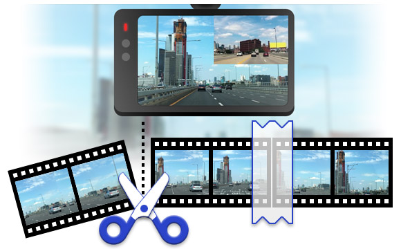 Dashcam Video Cutter, Dashcam Video Editor