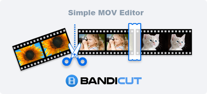 Simple Video Editor, Simple MOV Editor, Bandicut